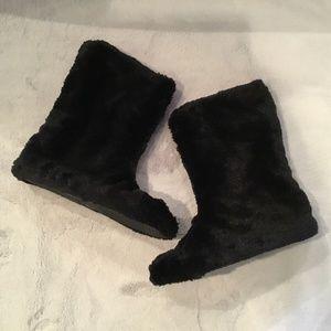 Ladies Bootie Slippers